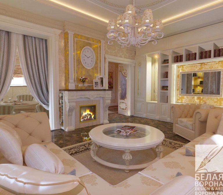 дизайн интерьер гостиной в современном интерьере