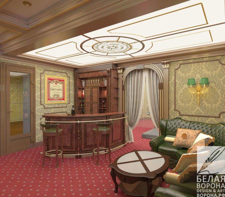 дизайн интерьер квартиры в современном стиле в классическом стиле