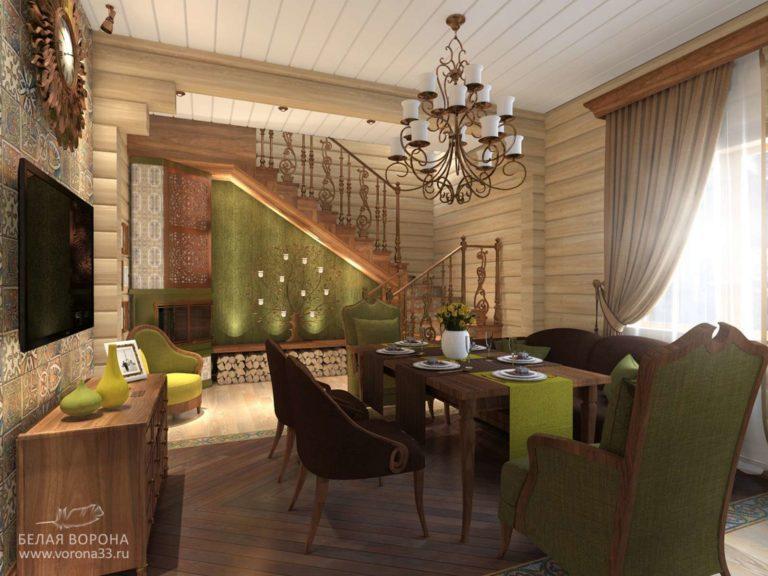 дизайн проект квартиры в применением резкого контраста