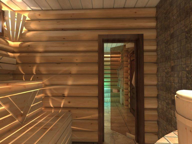 дизайн интерьер холла в отделке которого использованы натурального материала в контексте контраста тёплых и холодных цветов