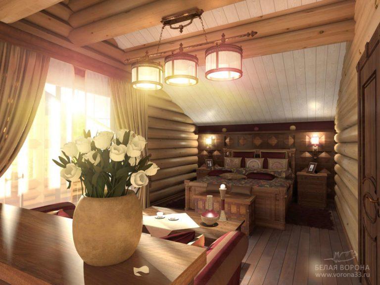 дизайн проект гостиной в применением резкого контраста