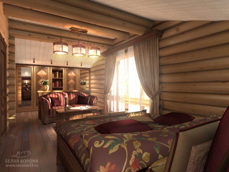 дизайн интерьер гостиной в применением резкого контраста