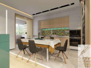 Дизайн интерьера в стиле «IKEA 2»
