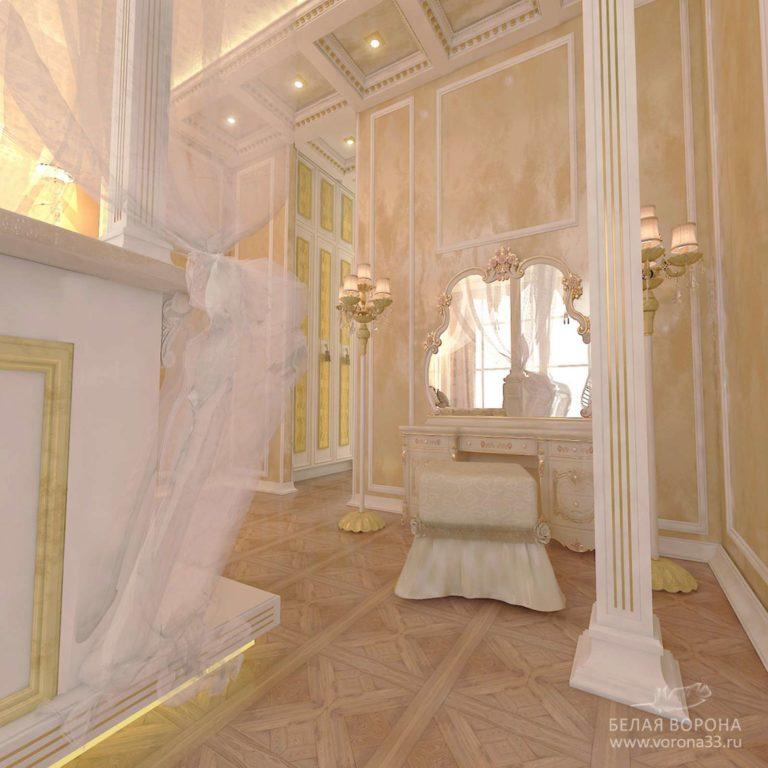 дизайн интерьер ванной комнаты в современном стиле в с применением лёгких цветовых акцентов