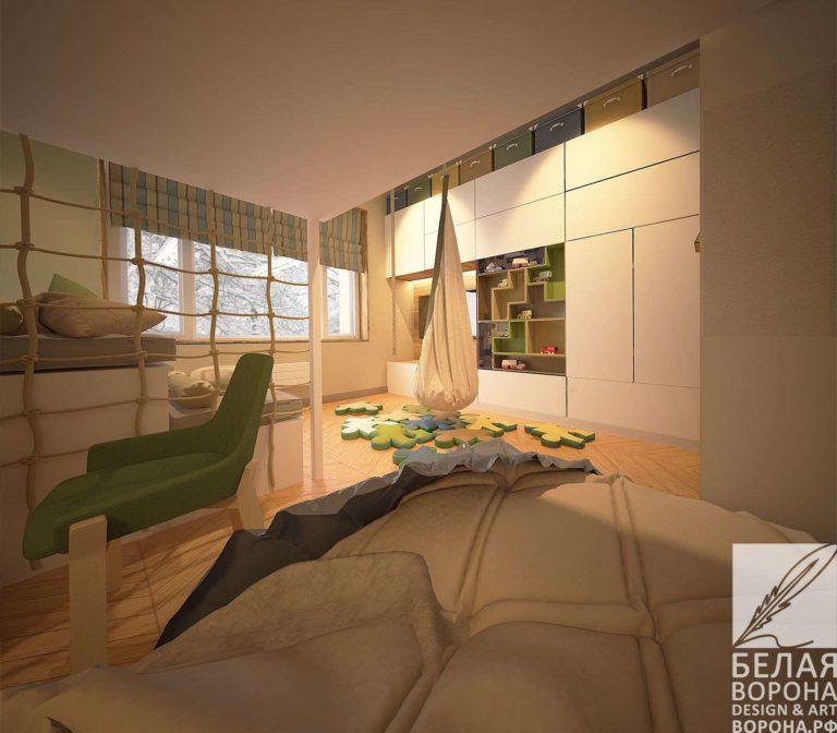 дизайн интерьер спальни в современном стиле