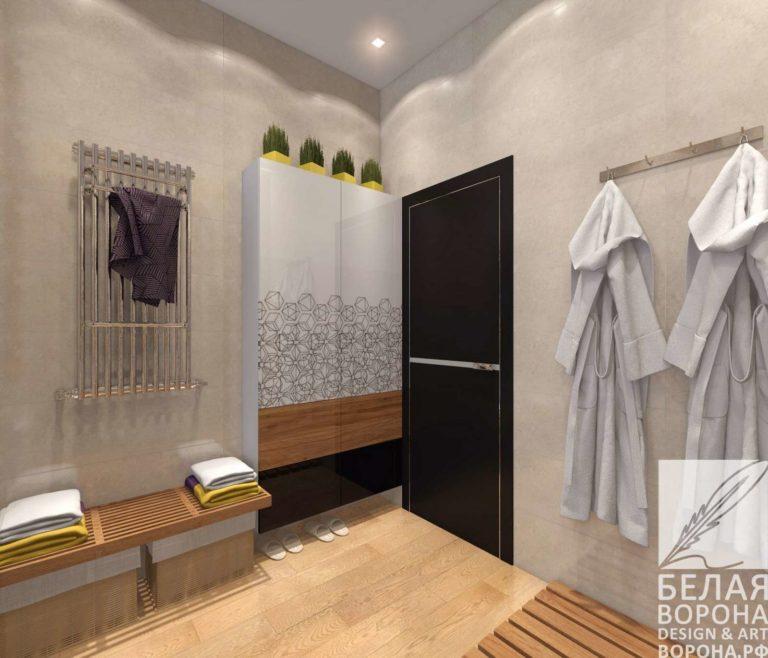 дизайн интерьер ванной в современном интерьере