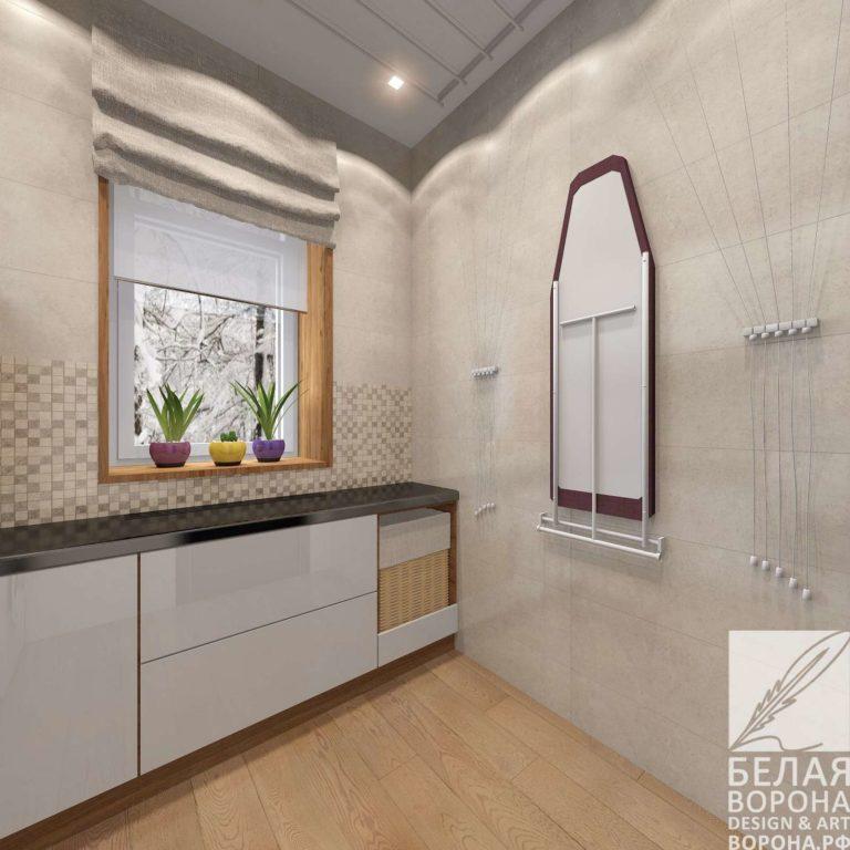 дизайн интерьер квартиры в современном стиле в применением резкого контраста