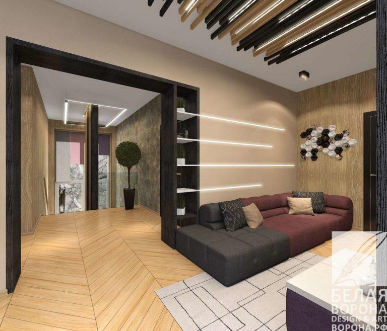 дизайн интерьер спальни в современном интерьере