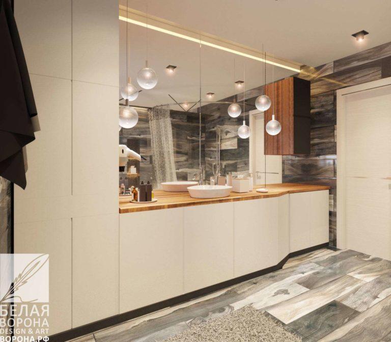 дизайн интерьер кухни в современном интерьере