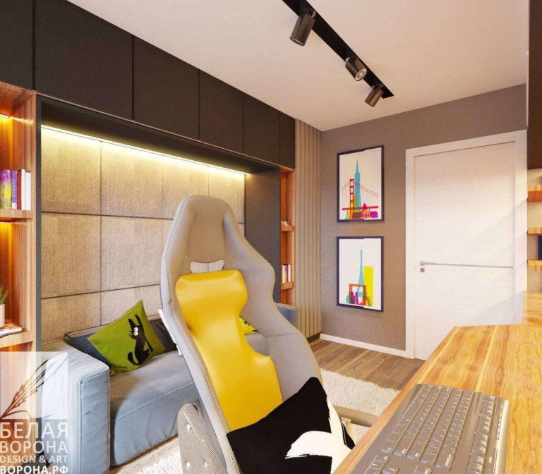 Мебель для рабочего пространства и зоны отдыха в дизайне интерьера