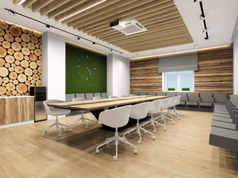 эко дизайн в интерьере офиса