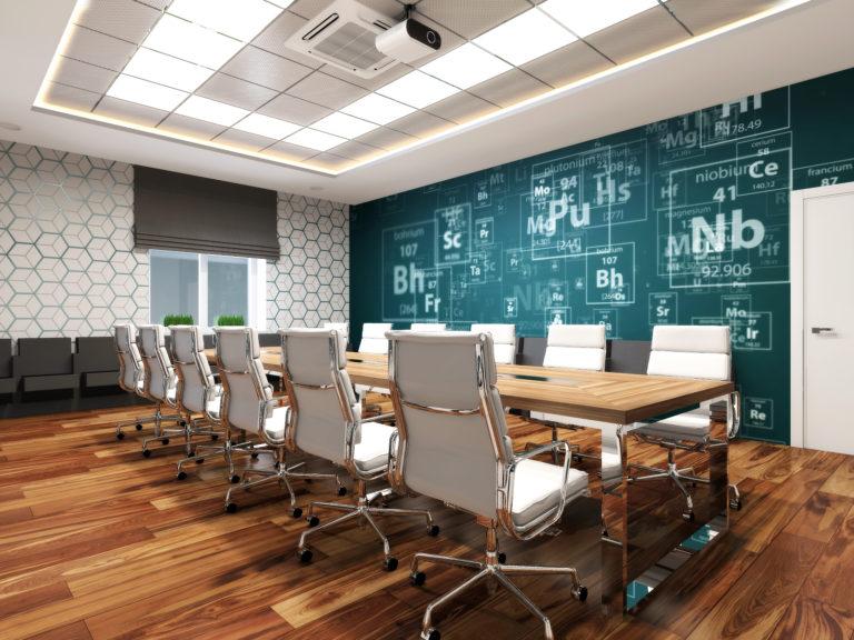 дизайн проект интерьера корпоративного офиса