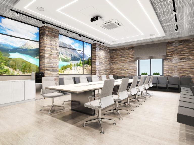 дизайн-проекта помещения для корпоративных собраний