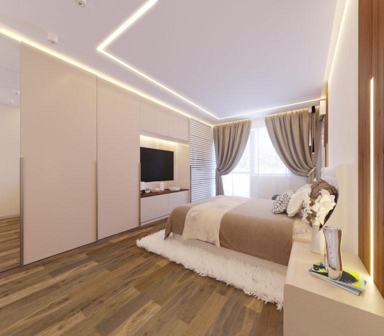 спальня в дизайне интерьера