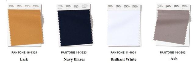 Нейтральные цвета весна-лето 2020 по версии Pantone
