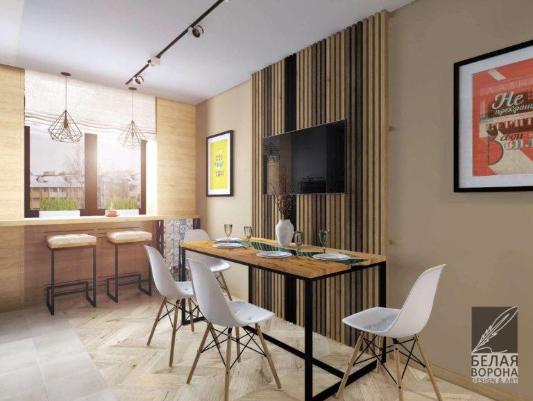 Мебель в столовой в 2020. Современный дизайн-проект