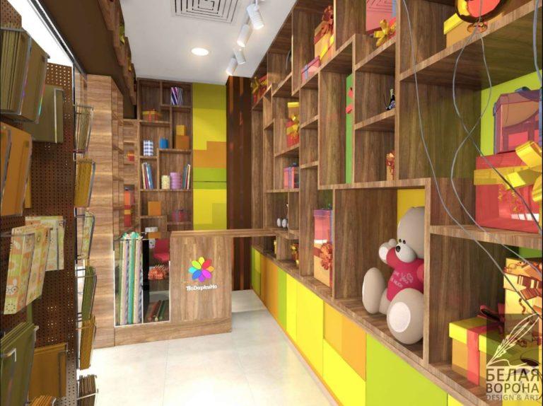 Дизайн магазина. Внутри