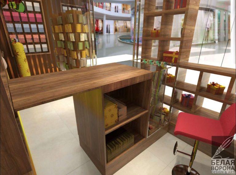 Внутренняя отделка магазина
