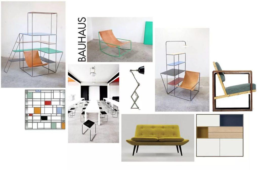 мебель стиля баухаус