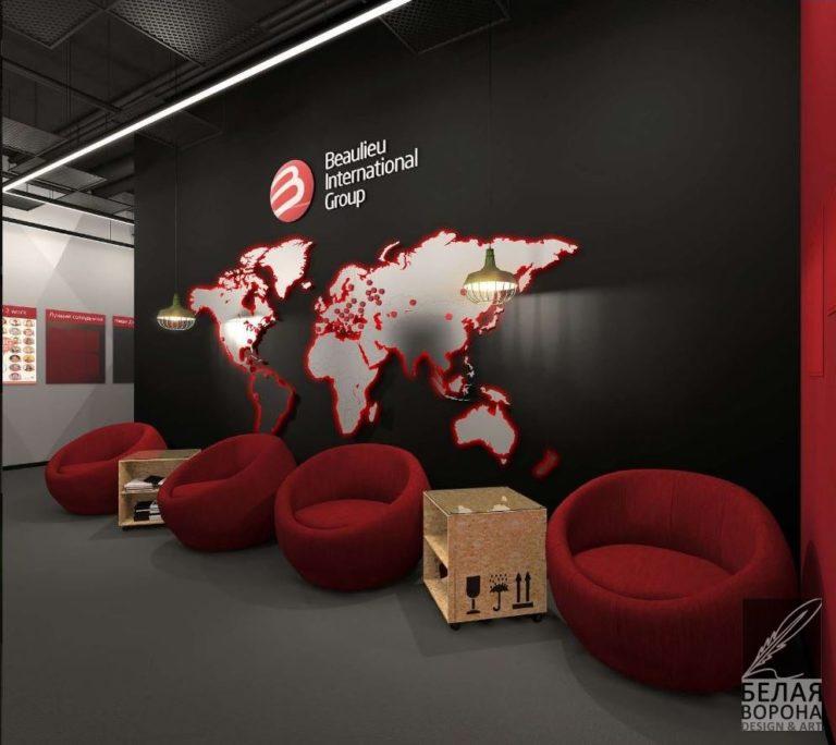 дизайн зоны отдыха для коммерческого помещения