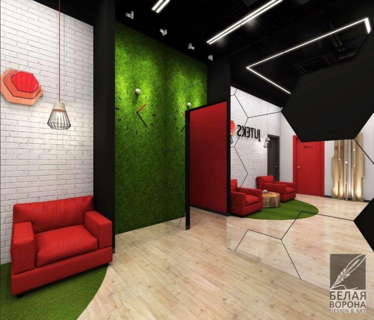 дизайн интерьера коммерческого помещения 2