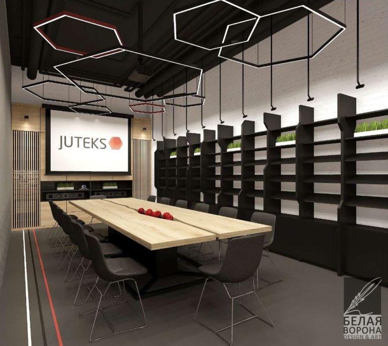 дизайн проекта конференц зала для juteks