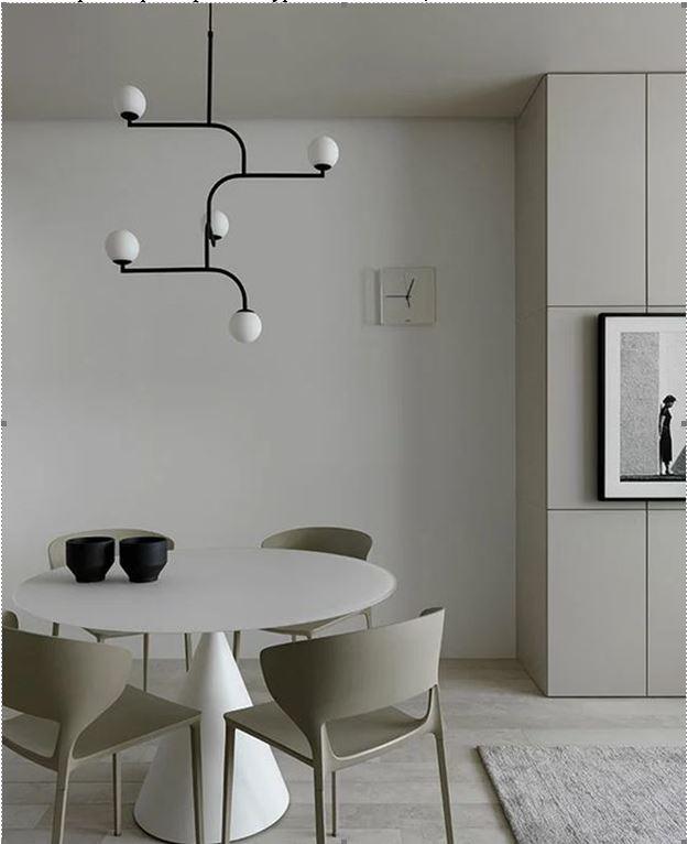 дизайн проект в светлых тонах в стиле минимализм