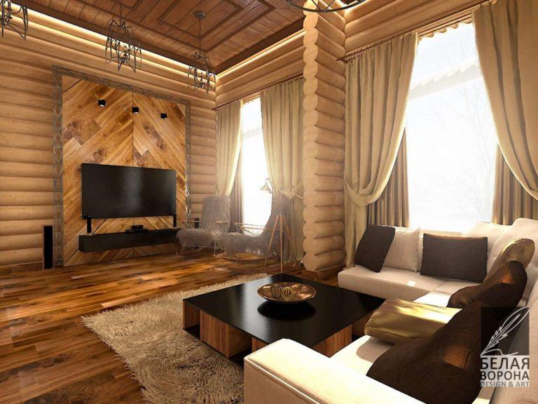 дизайн проект дома в современном интерьере