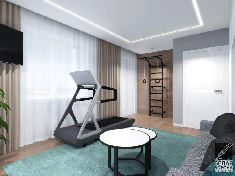 Столик стиля баухаус в современном дизайне интерьера