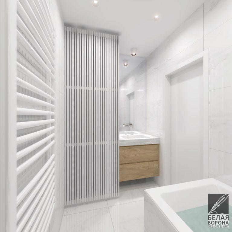 дизайн интерьера ванной в современном интерьере