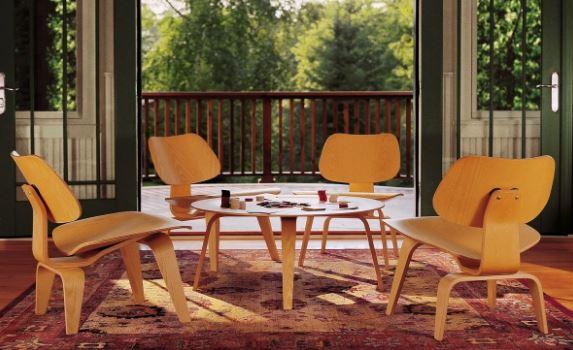 Стулья Имзов в интерьере, мебель стиля баухаус