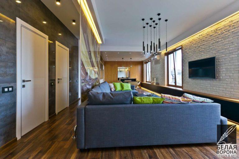 дизайн проект гостиной в с применением лёгких цветовых акцентов и ярких цветовых пятен мебель гостинной