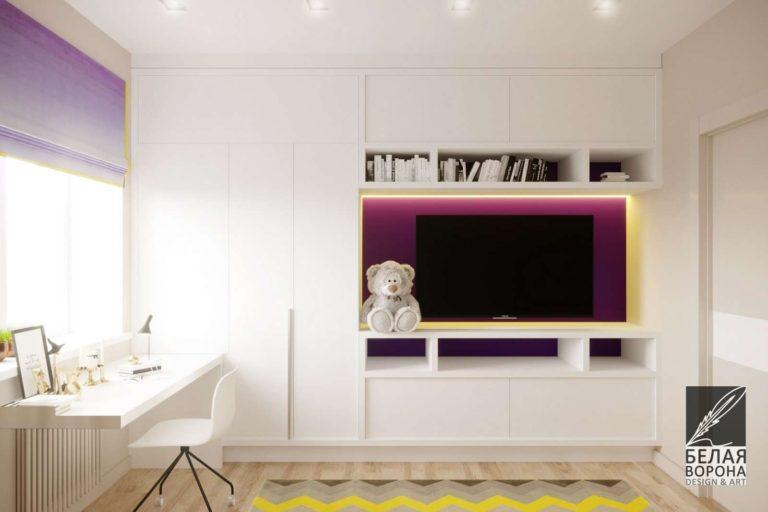 Шкаф для хранения вещей. Мебель в дизайн-проекте спальни