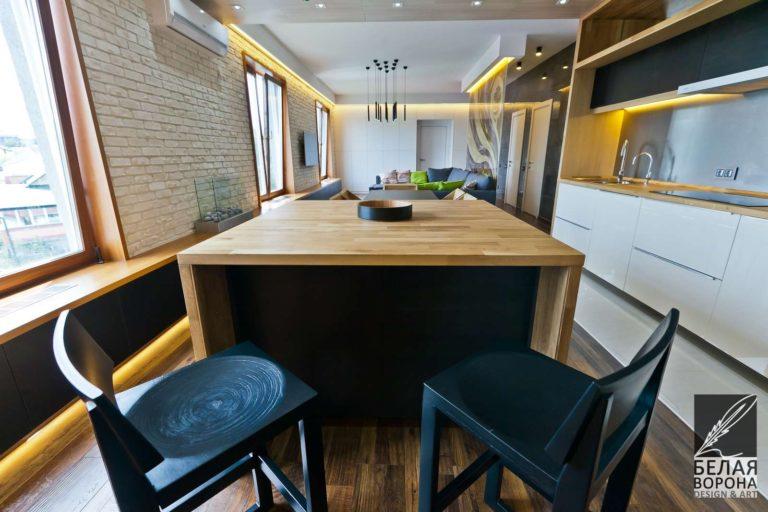 дизайн интерьер столовой в современном интерьере