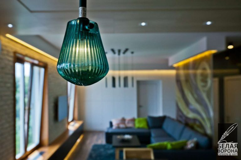 Лампочка в дизайне интерьера