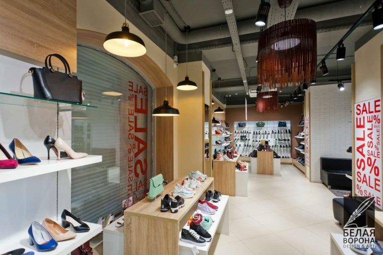 Заполнение пространства дизайн-проект коммерческого помещения в современном дизайне интерьера