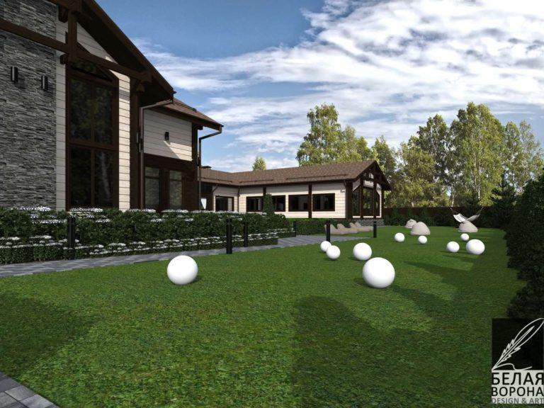 дизайн дизайн-проект фасада экстерьера дома