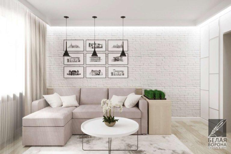 дизайн проект гостиной в стиле лофт Стиль лофт в интерьере