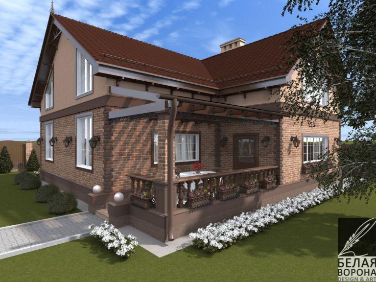 дизайн проект загородного дома в современном стиле