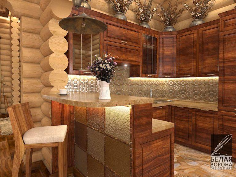 дизайн интерьера кухни в современном интерьере