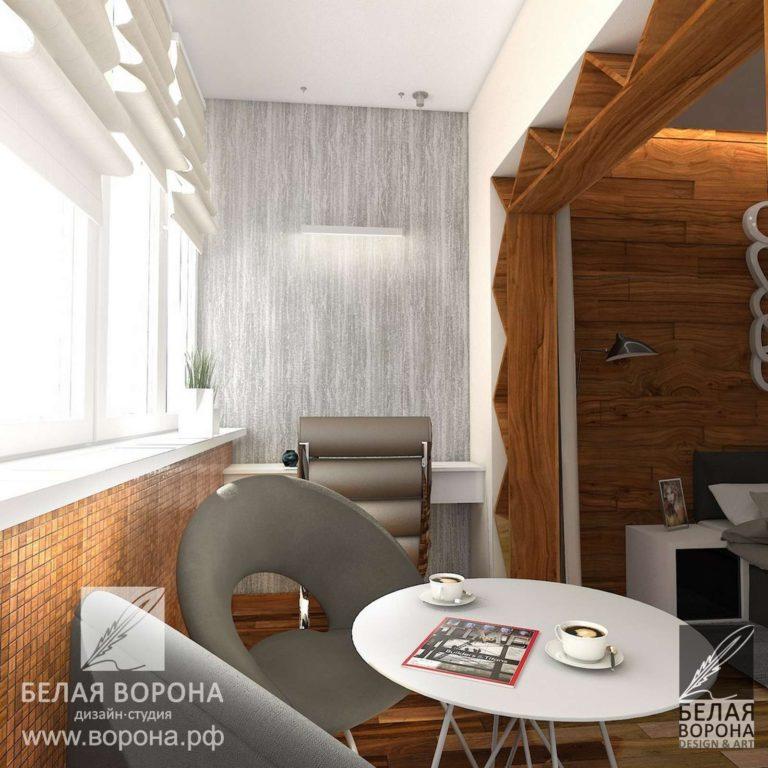 Отделка балкона в современном интерьере. дизайн проекты 2020