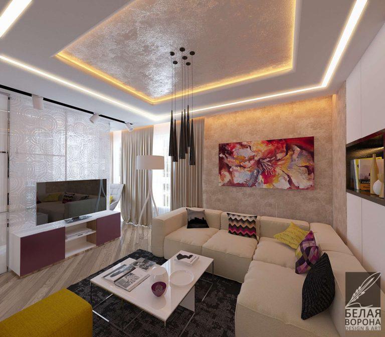 дизайн интерьера гостиной в современном интерьере картина в интерьере