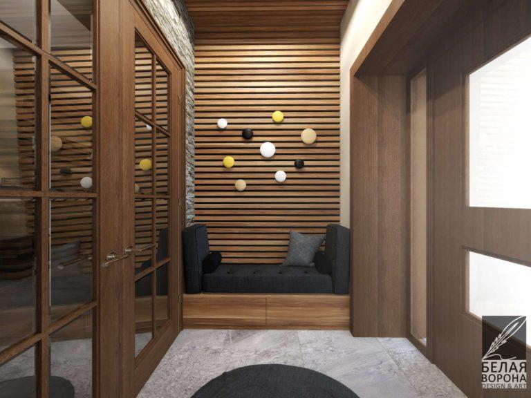 Дизайн интерьера прихожей