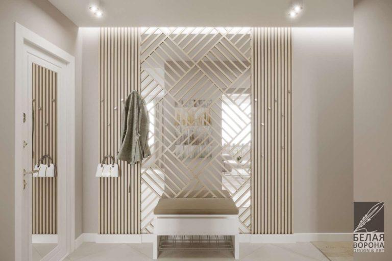 дизайн интерьера ванной в современном стиле светлые тона в интерьере
