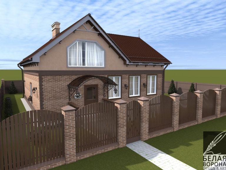 дизайн экстерьера загородного дома в современном экстерьере