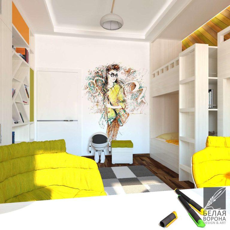 Отделка спального помещения в светлых тонах. Интересные дизайн-проекты