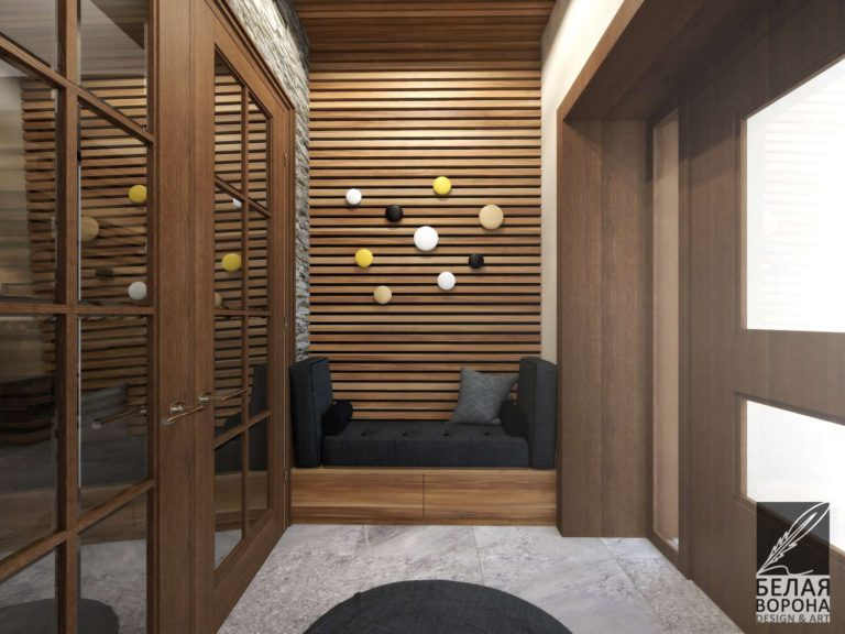 Мебель для прихожей и отделка в канонах современного интерьера