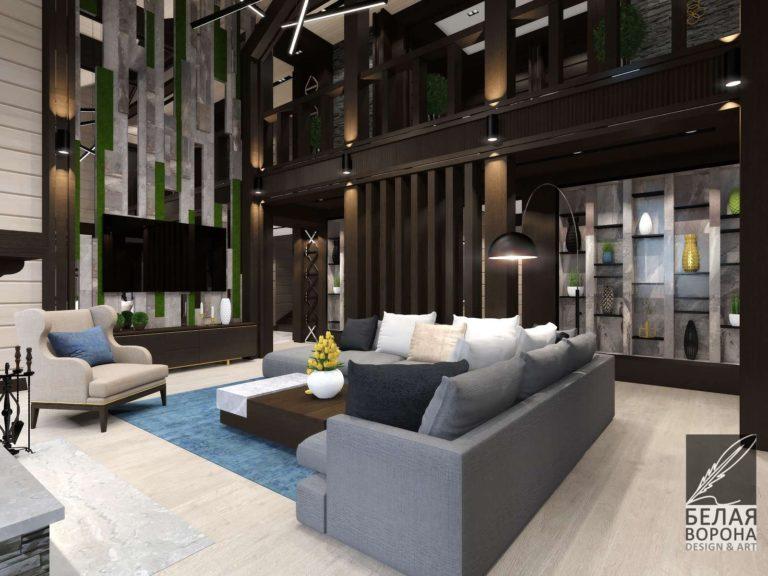 Гостинная в современном интерьере. Мебель для гостинной