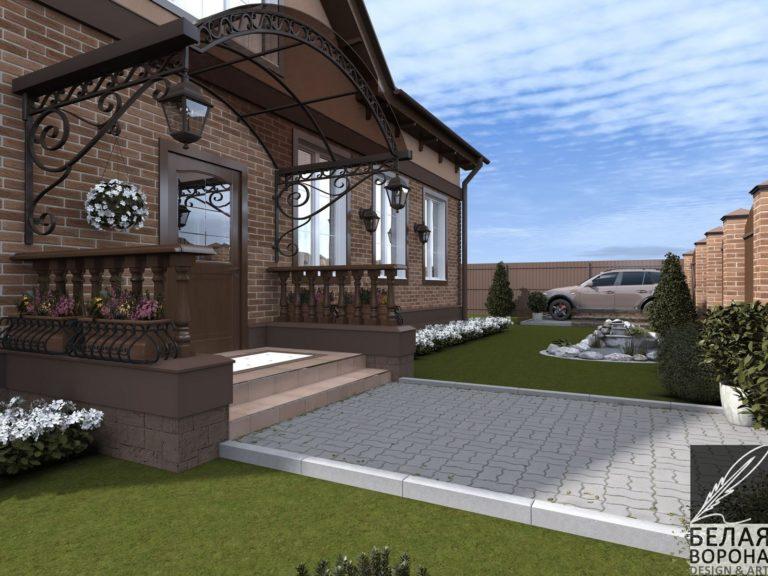 дизайн проект дома в светлых тонах