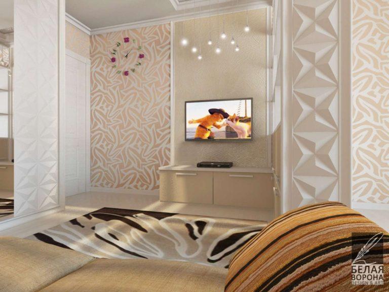 дизайн интерьера гостиной в современном интерьере